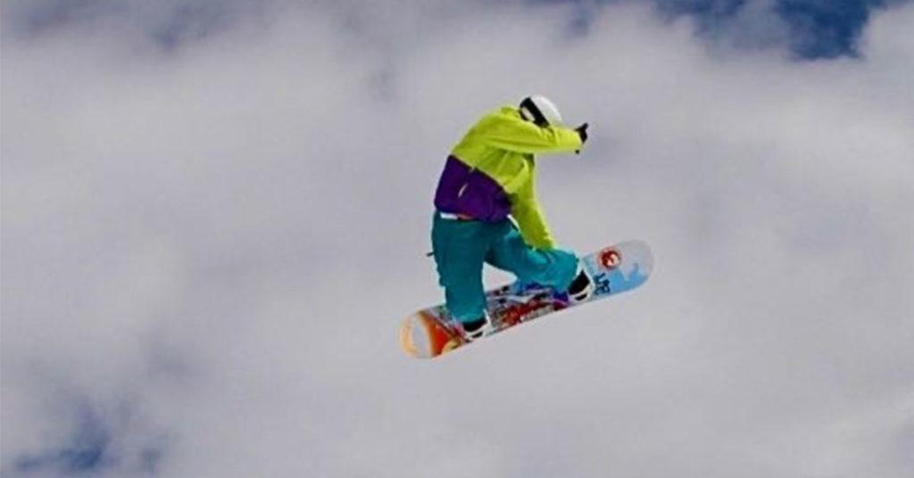 Jeroen van der Sluis snowboard
